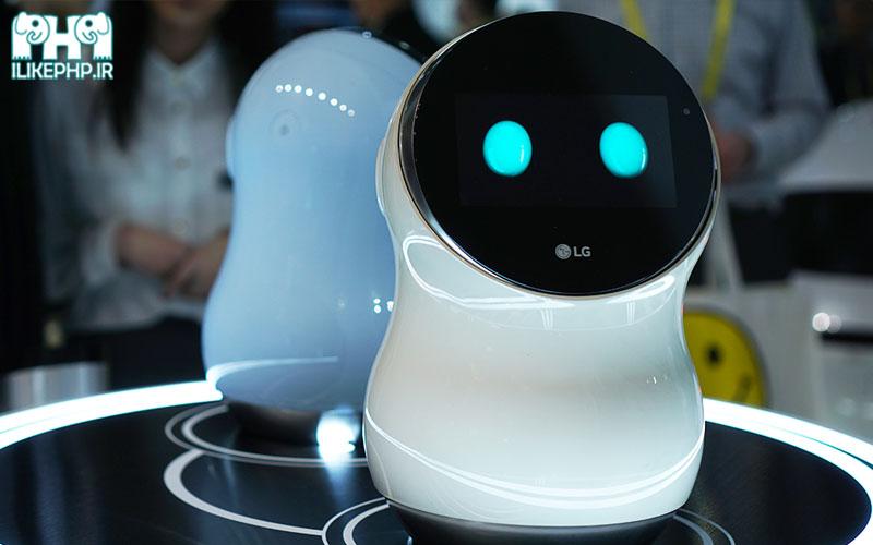 ال جی از نخستین ربات های محافظ مبتنی بر شبکه 5G رونمایی کرد